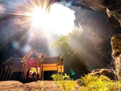 Phraya Nakhon Cave Vlakbij Khao Sam Roi Yot National Park