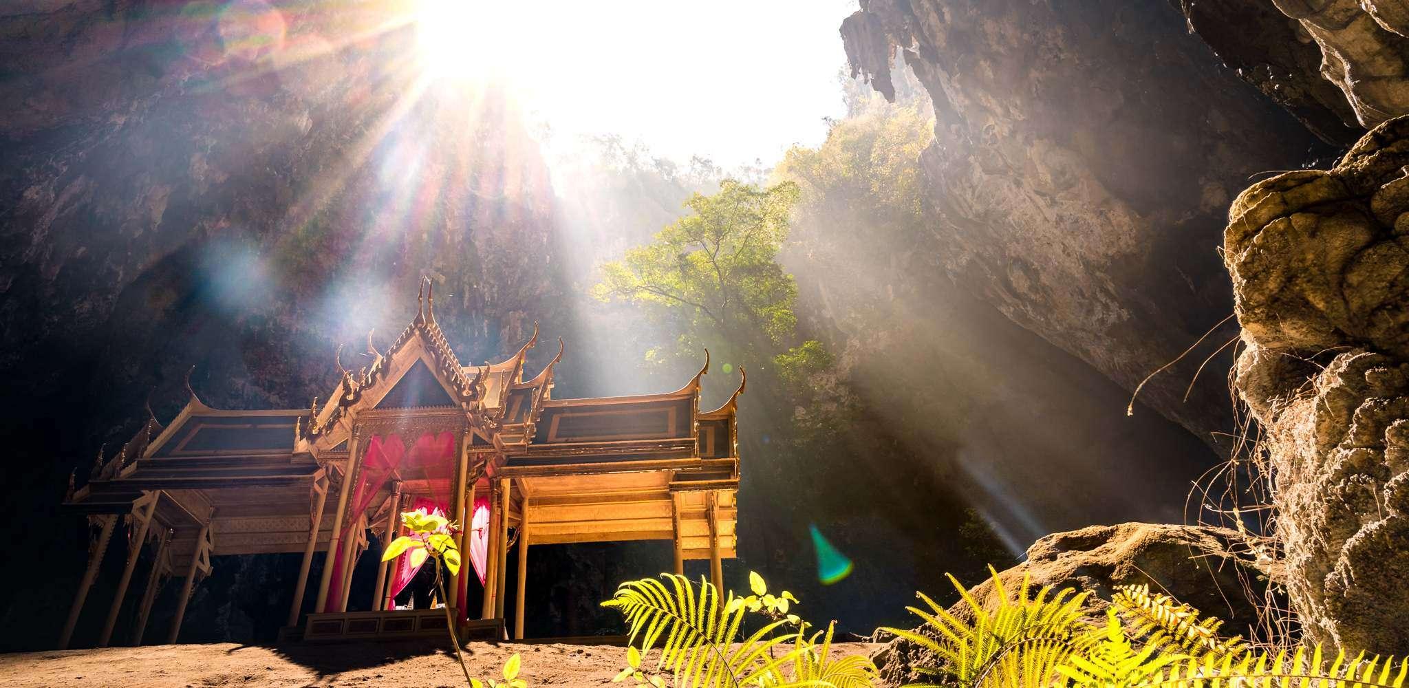 Phraya Nakhon Cave near Khao Sam Roi Yot National Park