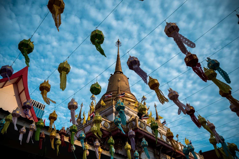 Wat Bangna Nai temple in Bangkok