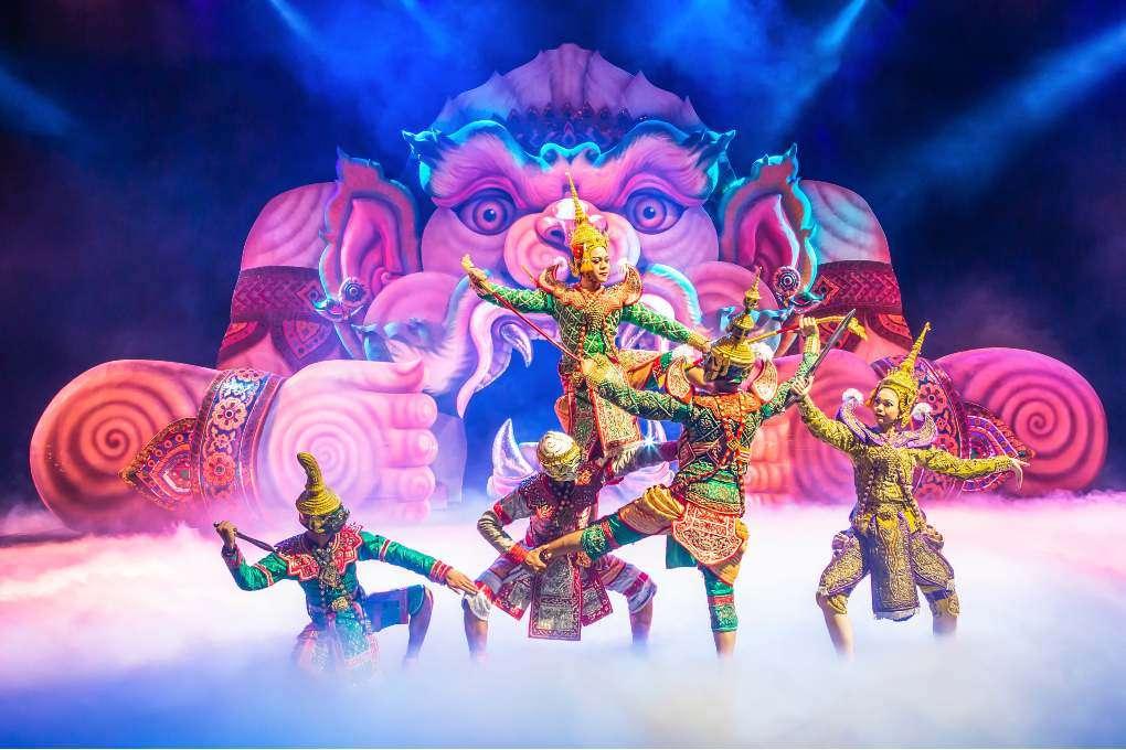 Theater in Phuket FantaSea in Kamala on Phuket
