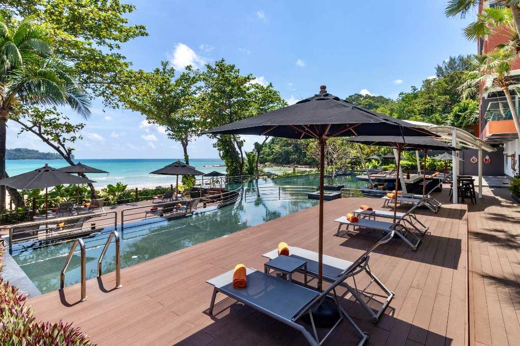 Pool of the Novotel Kamala on Phuket