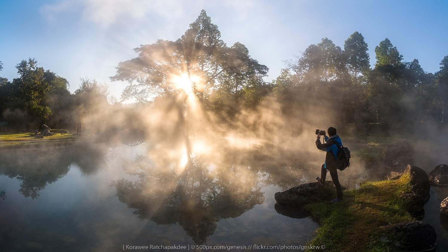 Sam Phan Bok in the Lampang province of Thailand