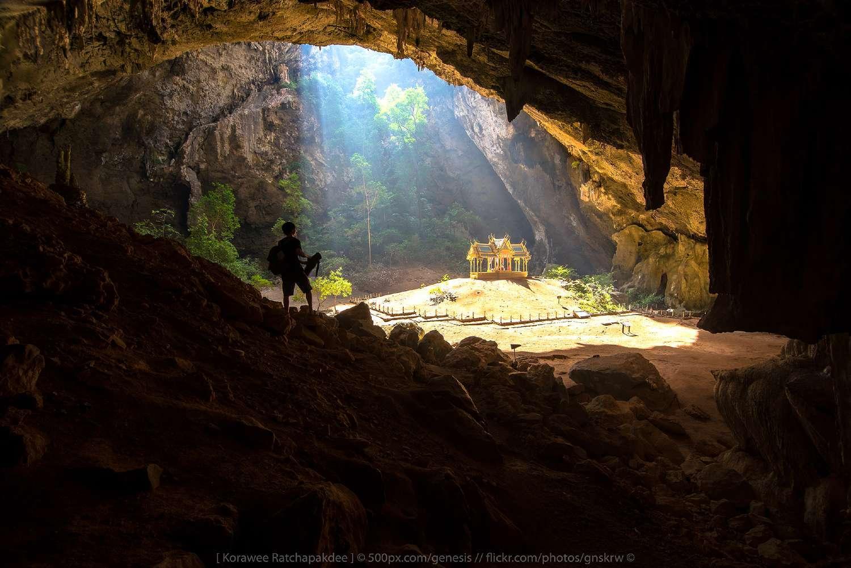 The Phraya Nakhon Cave in the Khao Sam Roi Yot National Park