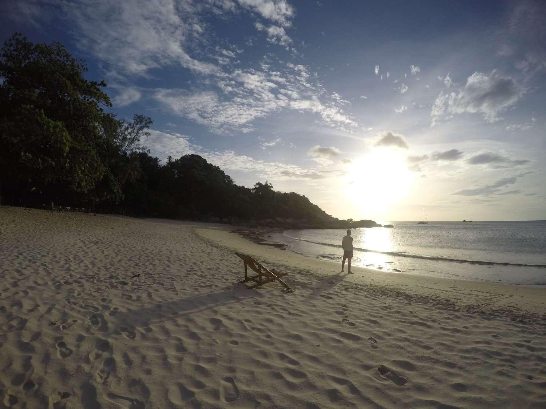 Thong Nai Pan Beach op Koh Phangan in Thailand