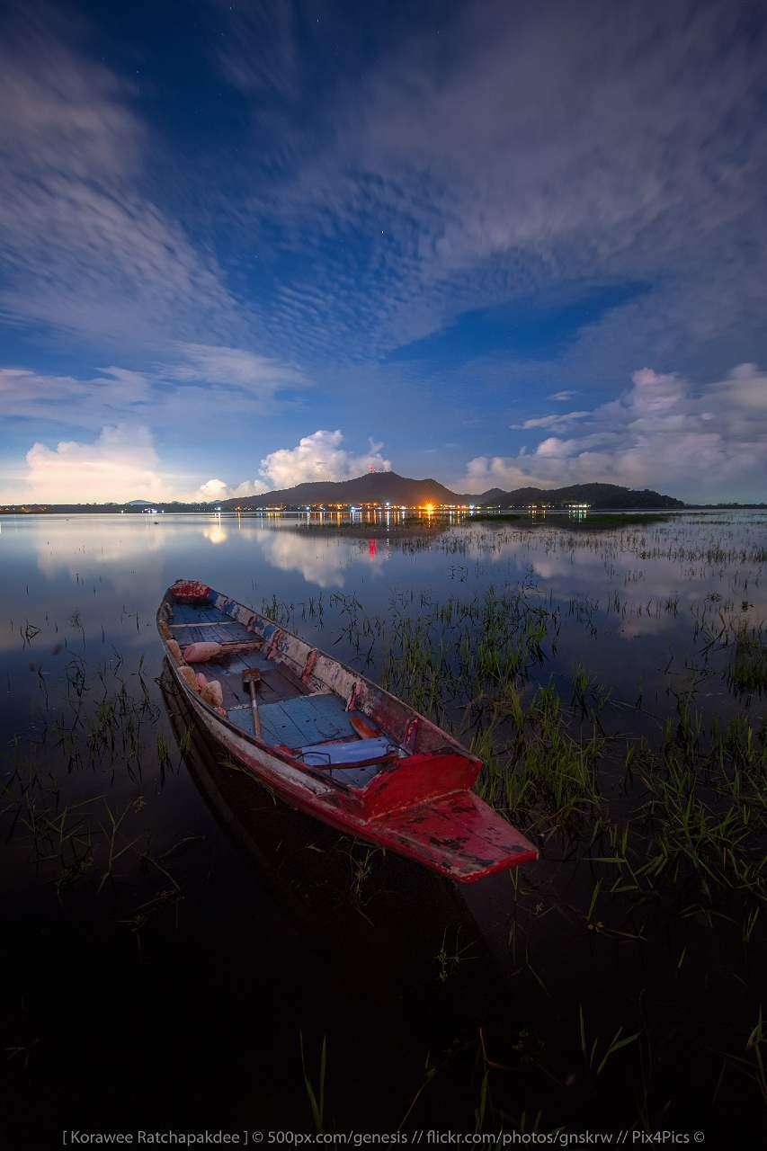 Bang Pra reservoir in Chonburi province of Thailand