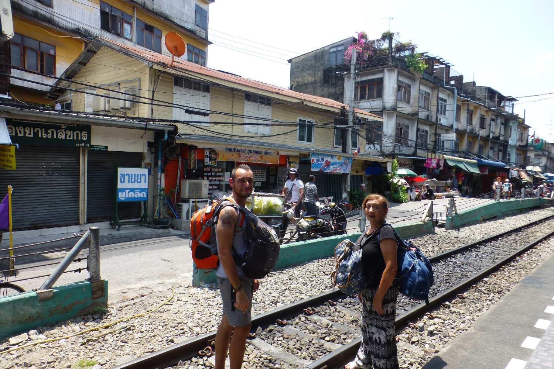 Maha Chai Station in Bangkok