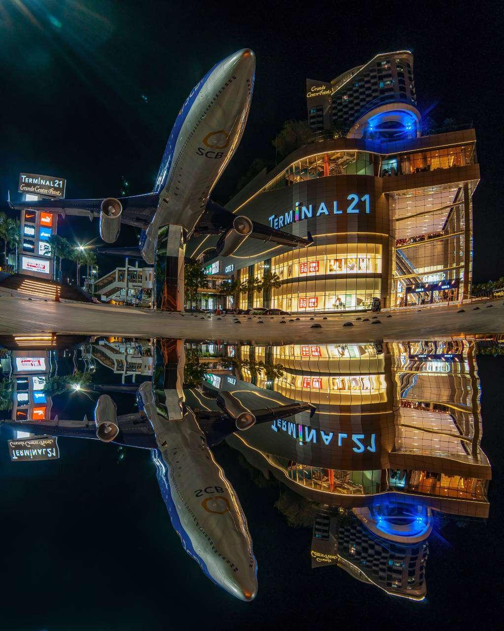 Terminal 21 Shopping Mall in Pattaya, Thailand