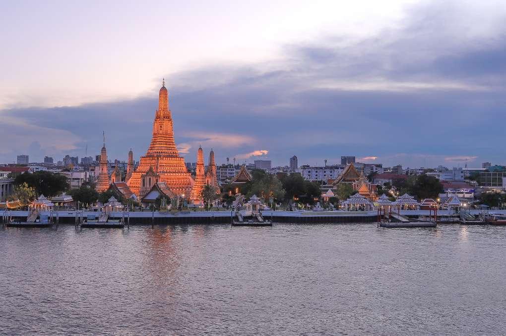 De Wat Arun in Bangkok