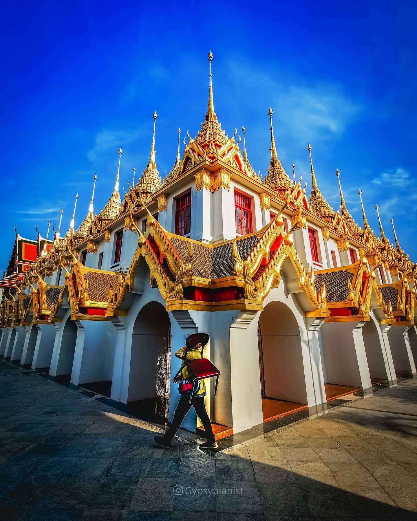 The Loha Prasat in Bangkok