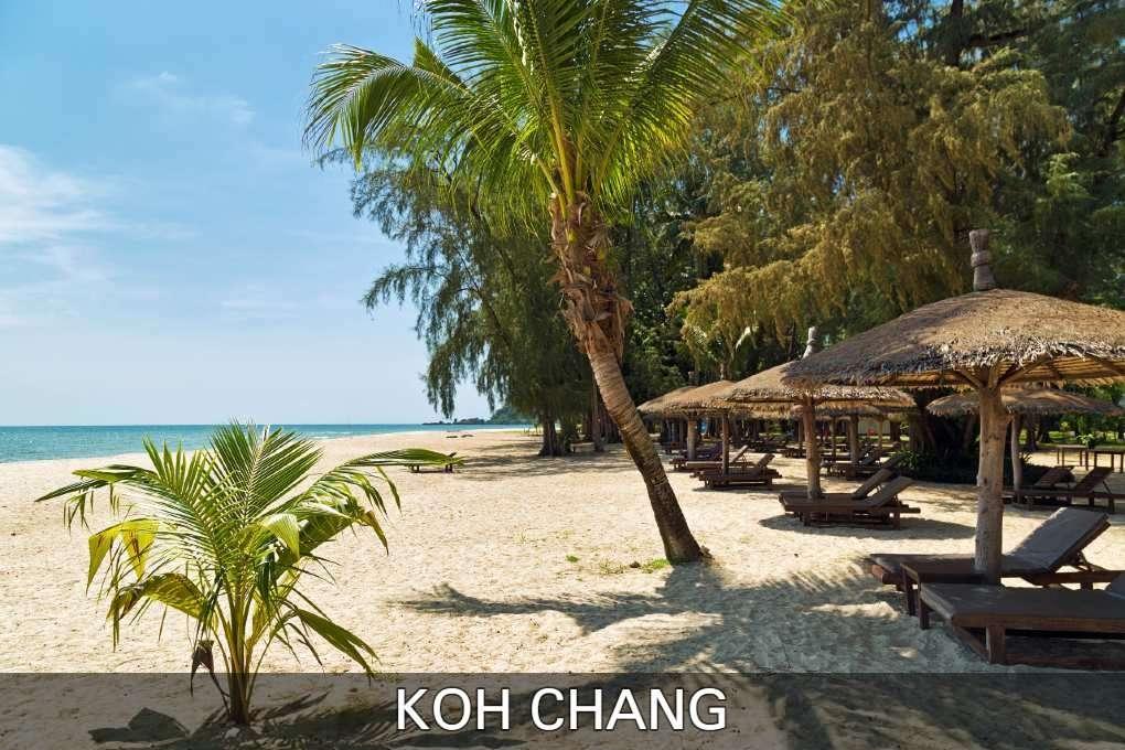 Koh Chang, Strand