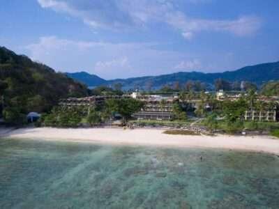 De Baai Van Merlin Beach Op Phuket